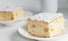 Prăjitură cu foi fragede , brânză si stafide Köstliche Desserts, Delicious Desserts, Dessert Recipes, Romanian Food, Romanian Recipes, Cake & Co, Sweet Cakes, Pie Recipes, Vanilla Cake