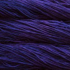 Malabrigo Purple Mystery - see it knit
