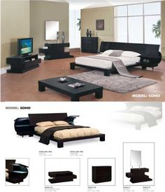 Contemporary modern Bedrooms