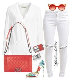 Cute by fashionkill21 on Polyvore featuring polyvore fashion style By Malene Birger FiveUnits Christian Louboutin Fendi Chanel women's clothing women's fashion women female woman misses juniors