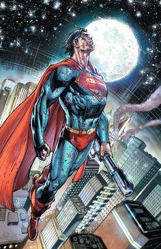 (Superman Earth One Cover) By: Ardian Syaf… Dc Comics Art, Dc Comics Characters, Marvel Dc Comics, Superman Artwork, Superman Comic, Superman Stuff, Superman Logo, Comic Costume, Dc World