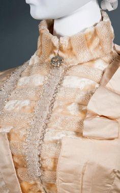 reception dress ca 1886 87