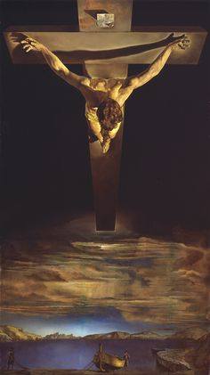 Crucified Jesus, Dali