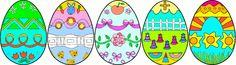 1 million de coloriages d'oeufs de Pâques pour les enfants