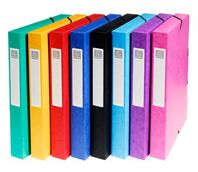 Las gamas en cartulina lustrada  Exacompta es el único fabricante europeo que solo utiliza auténtica cartulina lustrada certificada.