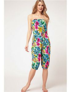 742c9ef64ee5 Marc by Marc Jacobs Havana Cover Up Romper – Beach Chain Girl Floral  Playsuit
