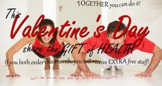 Support is so important in being successful when trying to lose weight or get healthy. So why not partner up with someone and get healthy together. Your partner can be your husband, wife, sister, brother, friend, Mom, Dad, co-worker or neighbor, walking buddy…the list goes on. For the rest of the month of February, if you and your partner start together, you will each get $25 in health dollars...that's on top of all the other free things we always offering! Message me and I'll tell you about…
