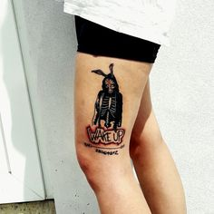 Donnie Darko's tattoo
