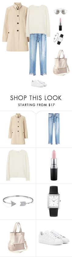 """jeans casual look"" by yuri-writer on Polyvore featuring Gerry Weber, Frame, Diane Von Furstenberg, MAC Cosmetics, Bling Jewelry, Larsson & Jennings, Athleta, adidas and Christian Dior"