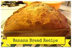 One of the best ways to save money is to make food at home, like tho easy banana bread. Try this banana bread recipe as a holiday gift.