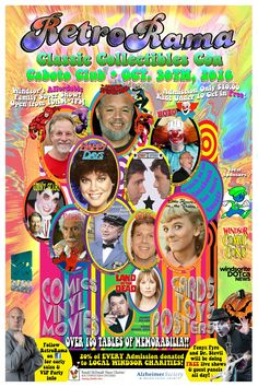 Windsor's RetroRama Classic Collectibles Con Oct. 30/2016! www.Facebook.com/RetroRamaWindsor *Admission only  $10 - CHILDREN 10 and under ALWAYS FREE! 20% of each ticket going to SUPPORT LOCAL CHARITIES! Local Charities, Ronald Mcdonald House, Oct 30, Support Local, Special Guest, Happy Day, Windsor, Ticket, Facebook