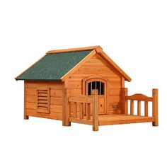 Pet Squeak Porch Pups Dog House, Small - http://www.thepuppy.org/pet-squeak-porch-pups-dog-house-small/