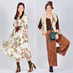 悦子のお洋服 #地味スゴ #4話 #河野悦子 Dress Skirt, Dress Up, Love Her Style, Fashion Editor, Asian Style, Modest Dresses, Colorful Fashion, Dress Collection, What To Wear