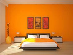 colores para dormitorios modernos - Búsqueda de Google Asian Paint Design, Asian Paints Wall Designs, Living Room Green, Living Room Paint, Asian Bedroom, Bedroom Orange, Bedroom Colors, Wall Color Combination, Room Wall Painting