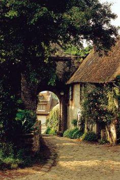 Gerberoy, Oise, Picardie, France