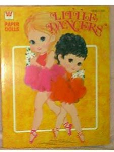 Little Dancers Paper Dolls, 1970  I had these :)