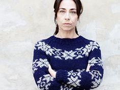 Stricken: Ein Norweger-Pullover à la Kommissarin Lund