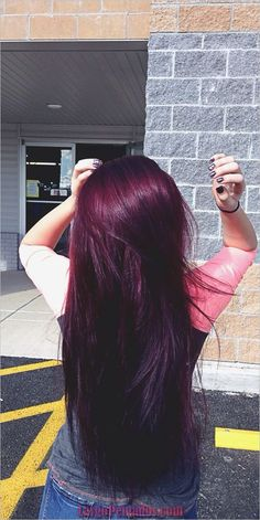 Are you looking for Dk Brown Purple Burgundy hair color hairstyles? See our collection full of Dk Brown Purple Burgundy hair color hairstyles and get inspired! Purple Burgundy Hair Color, Red Violet Hair, Violet Hair Colors, Plum Hair, Ombre Hair Color, Cool Hair Color, Dark Purple, Brown Hair, Color Red