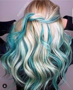 ers, 290 ing, Posts - See photos and videos from Pulp Riot Hair Color (pulpriothair) Hair Dye Colors, Ombre Hair Color, Cool Hair Color, Nice Hair Colors, Blue Ombre, Hair Colour, Red Purple, Blonde And Blue Hair, Blue Tips Hair