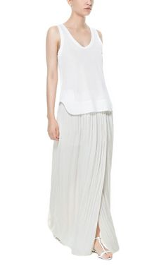 LONG FLOWING FABRIC SKIRT from Zara 50$ Yep, want it, now!