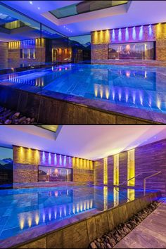 Exclusive and luxurious apartments in the alpinlodge & spa in Samnaun Switzerland in the Ski Resort Silvretta Arena. Luxury and panoramic views Luxury Spa, First Class, Apartment Design, Contemporary Design, Relax, Wellness, Mansions, Architecture, House Styles