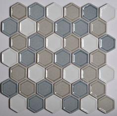 MOSVERCLASXX005 BB-MVG297 CLASSIC HEXAGON CANDY 300*300MM Bathroom Bizarre Mosaic, Candy, Texture, Stone, Bathroom, Classic, Coastal, Bb, Crafts