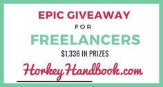 Epic Giveaway for Freelancers!