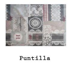 tela resinada Puntilla disponible para combinar con los productos Arethaju