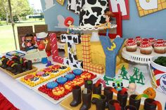 Toy Story 3rd Birthday Party | CatchMyParty.com