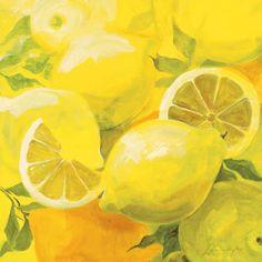 Inna Panasenko - Zitronen - jetzt bestellen auf kunst-fuer-alle.de