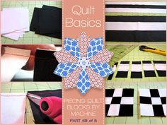 Quilting Basics: A Five-Part Series for Beginners | Sew4Home