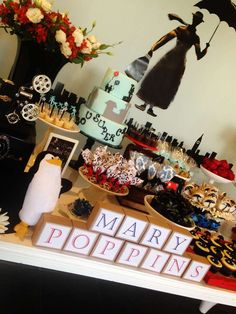 Mary Poppins Birthday Party Ideas | Photo 6 of 20 | Catch My Party