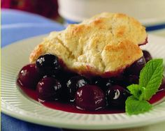 Very Cherry Cobbler http://ow.ly/kCdbi