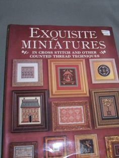 Exquisite Miniatures in Cross Stitch