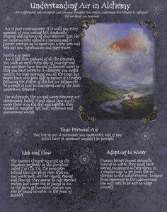 understanding air in alchemy