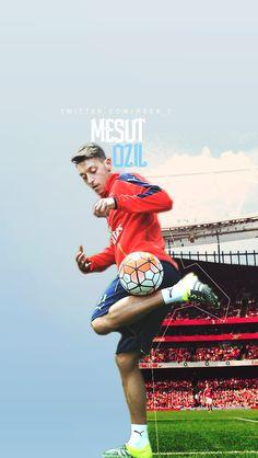 Mesut Özil. Lock screen.