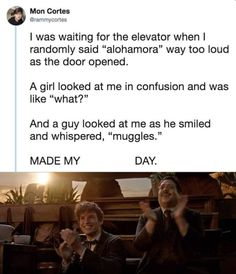 Harry Potter Puns, Harry Potter Universal, Harry Potter World, Funny Quotes, Funny Memes, Hilarious, Humor Quotes, Funny Laugh, Top Funny