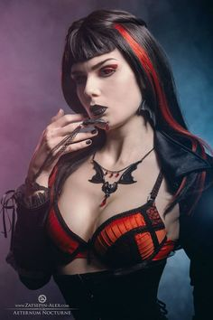 Model: Elisanth Photo: Zatsepin Alex Jewelery: Aeternum Nocturne Gothic jewelry contact lenses: Samhain Contact Lenses Welcome to Gothic and Amazing |www.gothicandamazing.org