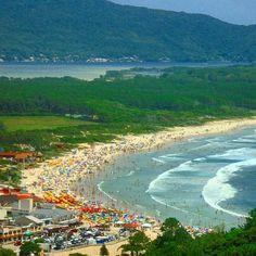 Praia da Barra da Lagoa, Florianópolis, Santa Catarina, Brasil