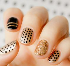 24 Carat Pure Gold Nail Designs .. Design prove easy to performance..Have a Look