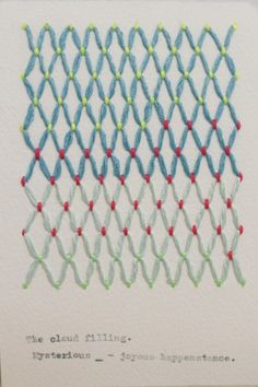 Pattern People: A stitch in time - Tendances (#567066)