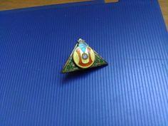 Turun Urheiluliitto Finland Antique Pin Badge TuUL Turku 1901 Enamel