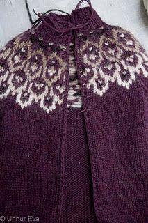 Crochet steeking - Opin lopapeysa en engin saumavél