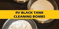 RV Black Tank Cleaning Bombs