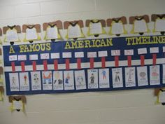 A timeline like this could be used during 4th grade Celebrate Freedom Week to identify the order of events of: Declaration of Independence, The U.S. Constitution, the American Revolution, Emancipation Proclamation, and the Women's Suffrage Movement.