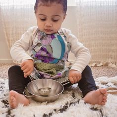Organic cotton aprons for your mini chef.