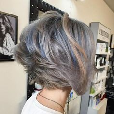 Layered Ash Brown Bob