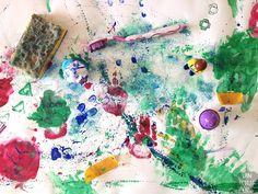 La peinture à doigt : le bonheur de tous les enfants de moins de 3 ans