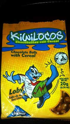 One of my favorite snack items.  These chocolate covered puffed quinoa and rice balls from Peru highlight those crazy New Zealanders who travel to South America for extreme sports.  Kiwilocos!