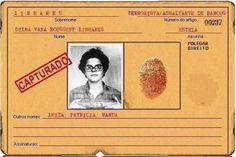 Ficha de Dilma Rousseff produzida nos porões da Ditadura Militar é um troféu, uma lembrança da tempera de Dilma Rousseff. Que em sua juventu...